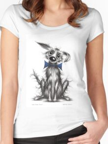 Mr Posh paws Women's Fitted Scoop T-Shirt
