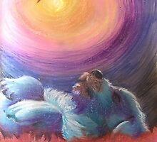 Galaxy Puppy by jonezajko