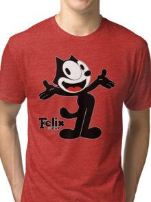 Felix The Cat Tri-blend T-Shirt