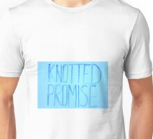 Knotted Promise Blue WaterColor Unisex T-Shirt