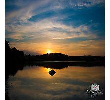 Serenity On The Lake Photographic Print