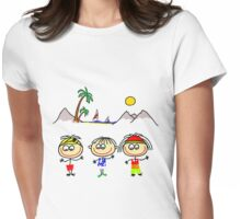 Funny People Boys and Girls Womens Fitted T-Shirt
