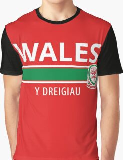 Wales National Football Team Graphic T-Shirt