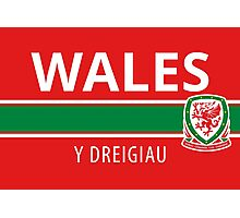 Wales National Football Team Photographic Print