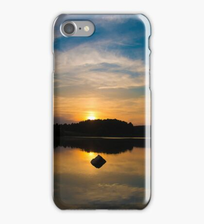 Serenity On The Lake iPhone Case/Skin