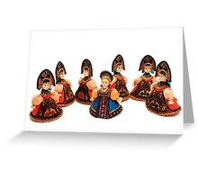The Singing Dolls Greeting Card