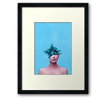 Head Grenade Framed Print