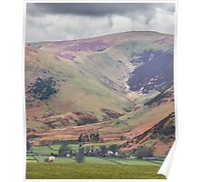 Lake District Autumn Fells Poster
