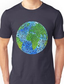 Swirly Earth T-Shirt