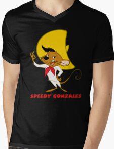 Speedy Gonzales Cartoon Mens V-Neck T-Shirt