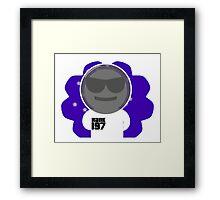 Space Bob Framed Print