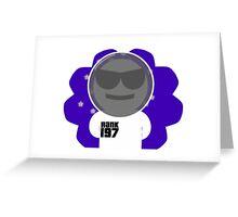 Space Bob Greeting Card