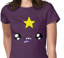 Cute Lumpy Space Princess Womens Fitted T-Shirt