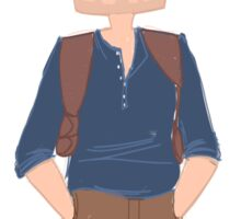 Nathan Drake - Uncharted 4 Sticker