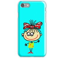 Funny people Girls and Boys iPhone Case/Skin
