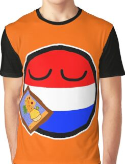 Netherlandsball Graphic T-Shirt
