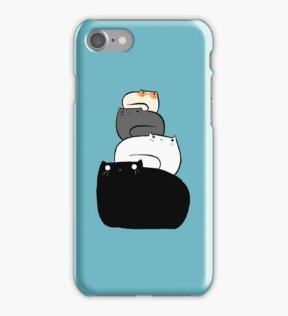Cat Stack iPhone Case/Skin