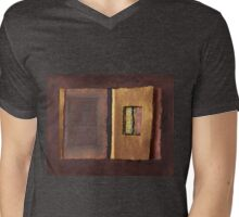 Page Format No.2 Transitional Series   Mens V-Neck T-Shirt