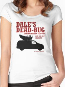 Dale's Dead-Bug Women's Fitted Scoop T-Shirt