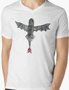 Watercolour Toothless Mens V-Neck T-Shirt