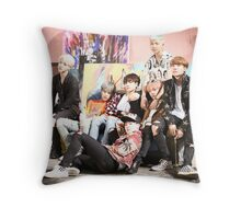 bts 01 Throw Pillow