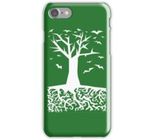 Deep Beneath The Earth (White) iPhone Case/Skin