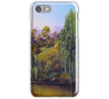 Weeping Willow Creek iPhone Case/Skin