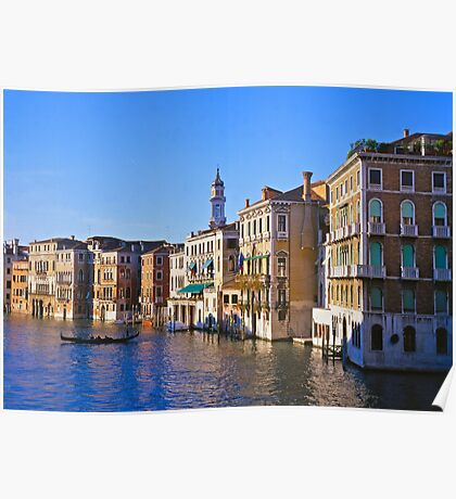 The Grand Canal in Venice Poster