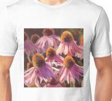 Echinacea - Pink Cone Flower Painting Unisex T-Shirt