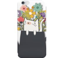 The Cat Is Back iPhone Case/Skin