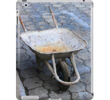 Wheelbarrow on the Street iPad Case/Skin