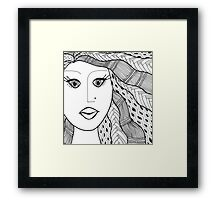 Native Wind Framed Print