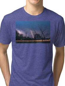 17th Street Thunder and Lightning Tri-blend T-Shirt