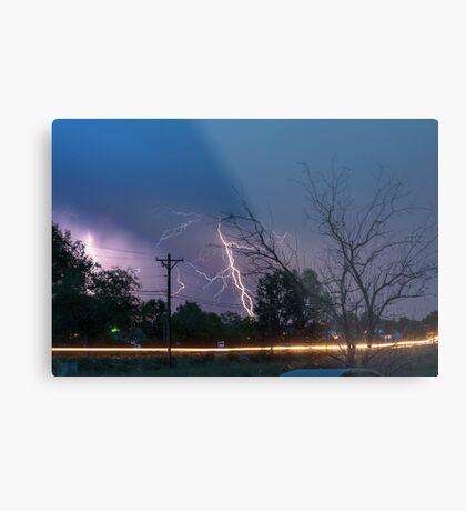 17th Street Thunder and Lightning Metal Print
