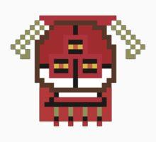 Pixeled Art Grunt Kids Tee