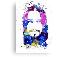 Jesus Christ - Watercolor Canvas Print