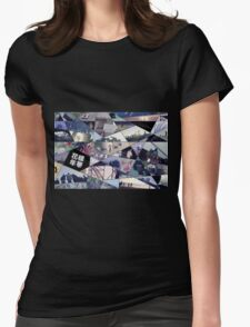 Prologue/Butterfly Puzzle Womens Fitted T-Shirt