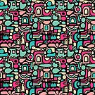 Abstract Pattern 210515 by Artberry