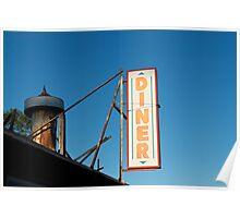 Old Diner I Color Poster