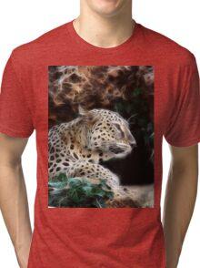 Peaceful Tiger Tri-blend T-Shirt