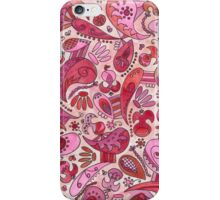Pink Paisley iPhone Case/Skin