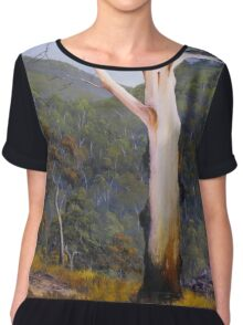 Forest View Chiffon Top