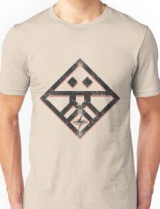 Kiznaiver Corporate Logo - distressed black Unisex T-Shirt