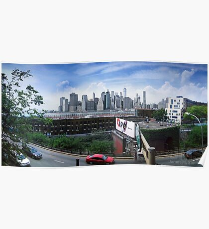 View from the Brooklyn Heights Promenade Poster