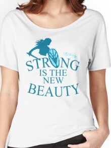 strong is th new beauty - shieldmaiden Women's Relaxed Fit T-Shirt