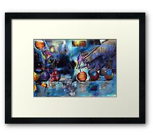 Smoke Bombs Framed Print