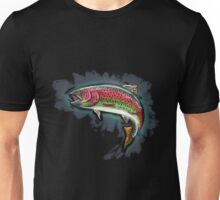 Procreate Rainbow Trout Unisex T-Shirt