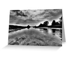 Sky Water & Light Greeting Card