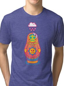 Dead Inside Tri-blend T-Shirt