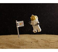 Lego Moon Walk - One really, really small step... Photographic Print